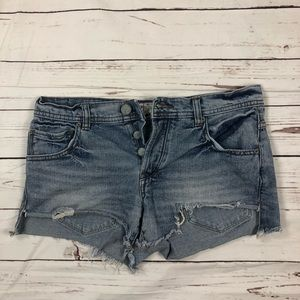 Free People Women's Shorts Size W27